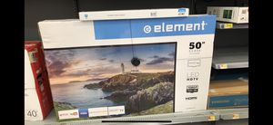 Element 50 inch smart TV with wall mount for Sale in Cerritos, CA