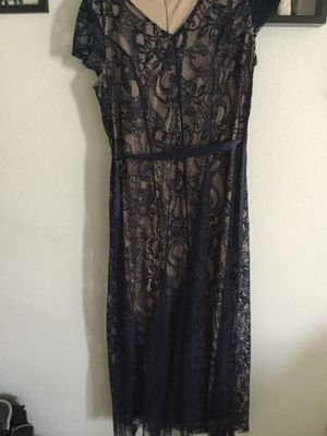Lace dress blue for Sale in Downey, CA