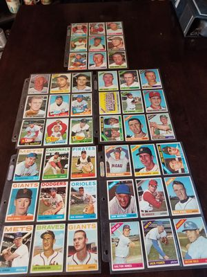 Vintage Baseball Cards 1964-66 ( Commons but some high numbers) for Sale in Lodi, CA