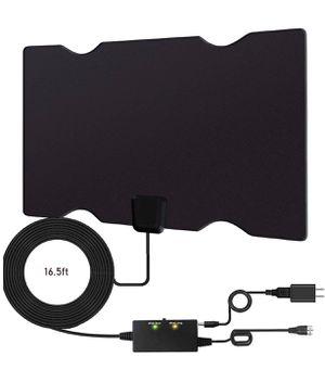 Brand New Amplified Indoor HD Digital TV Antenna, Long 180 Miles Range, Support 4K 1080p Fire tv Stick & All Older TV's Digital Antenna HDTV Amplifie for Sale in Hayward, CA