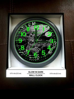 Violin Mariachi guitarron Glow in Dark Wall Clock for Sale in Burbank, CA