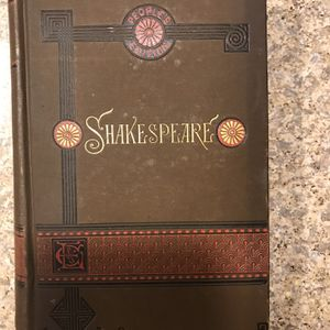 (PRICE SHOWN JS NOT ACTUAL LRICS BEING SOLD AT)ERY old Shakespeare people's Edition for Sale in East Windsor, NJ