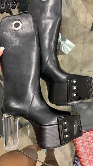 Rick Owens KOWBOY 120 Platform Boots for Sale in Atlanta, GA