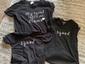 Mommy squad shirts bundle for Sale in Clovis, CA