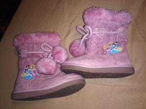 Girls Disney princess boots for Sale in Albuquerque, NM