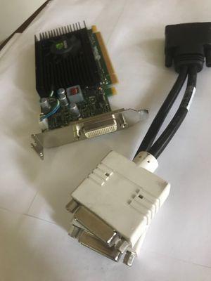 NVIDIA Quadro SFF graphics card, dual DVI for Sale in Ridgefield, WA