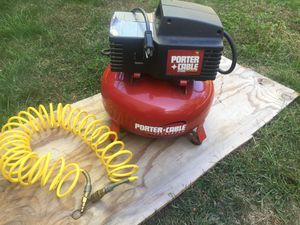 Porter cable air compressor for Sale in Naugatuck, CT