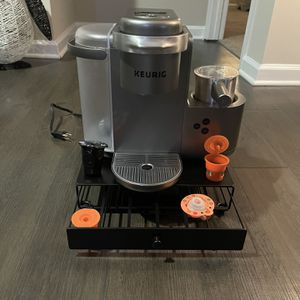 Keurig K-Cafe Coffee, Latte & Cappucino Maker W/ Storage Drawer for Sale in Ashburn, VA