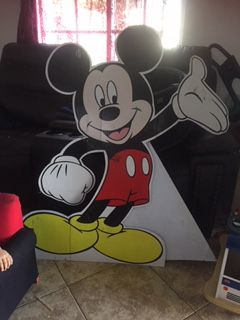 Mickey Mouse cardboard for Sale in Wilmington, CA