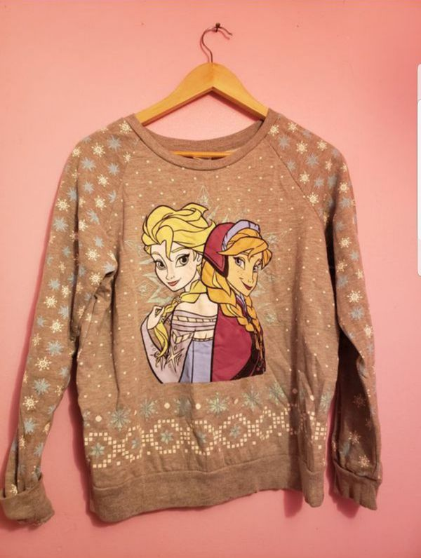 ❄FROZEN❄ FROM DISNEY☃️ BEAUTIFUL WARM SWEATER . Pick up at van Nuys,Ca