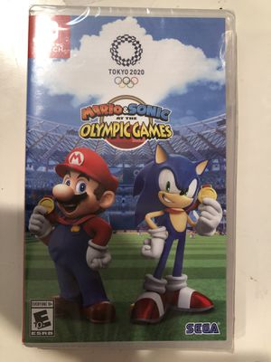 Brand new Nintendo Switch Mario Sonic Olympic 2020 for Sale in San Jose, CA