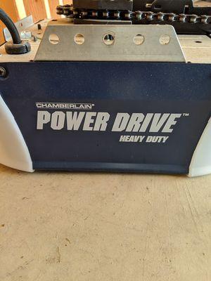 Chamberlain Powerdrive heavy Duty Garage door open for Sale in Bowie, MD