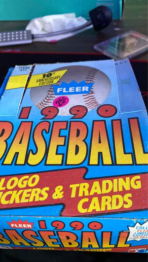 Fleer 1990 baseball logo stickers in trading cards for Sale in Langhorne, PA