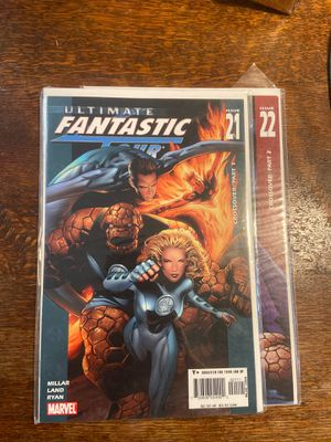 Ultimate Fantastic Four 21-22 Marvel comics first Marvel Zombies for Sale in Baldwin Park, CA