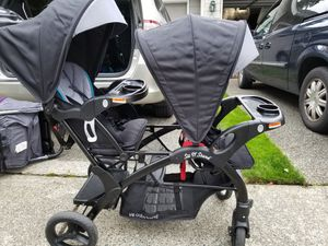 Sit N Stand Double Stroller for Sale in Lynnwood, WA