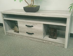 """Driftwood look TV stand (60"""") for Sale in San Leandro, CA"""