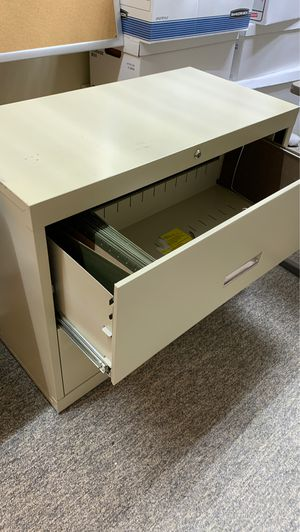 File cabinet lateral two drawer for Sale in Atlanta, GA
