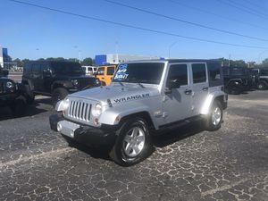 2008 Jeep Wrangler 4dr Sahara Auto NO FEES! for Sale in Gibsonton, FL