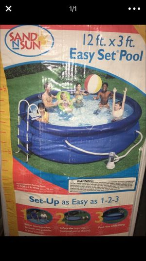 POOL WITH LADDER for Sale in Salt Lake City, UT