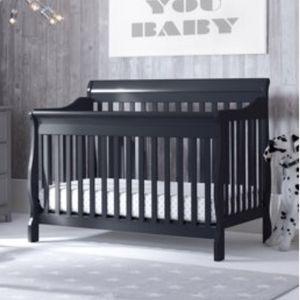 Delta Canton 4-in-1 Black Crib for Sale in Tacoma, WA