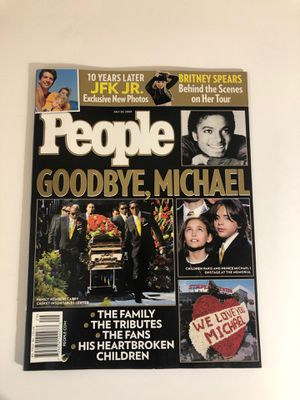 Michael Jackson People Magazine for Sale in Tolleson, AZ