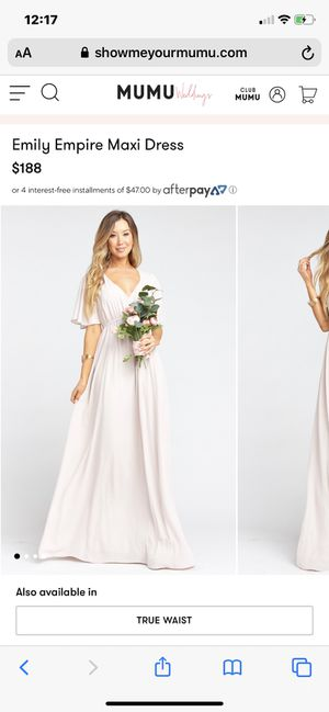2 Bridesmaids Dresses (XL) from Show Me Your Mumu for Sale in Costa Mesa, CA