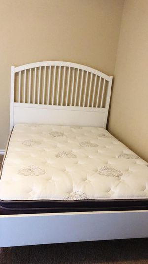 IKEA Bed Frame + Matteess for Sale in Silver Spring, MD