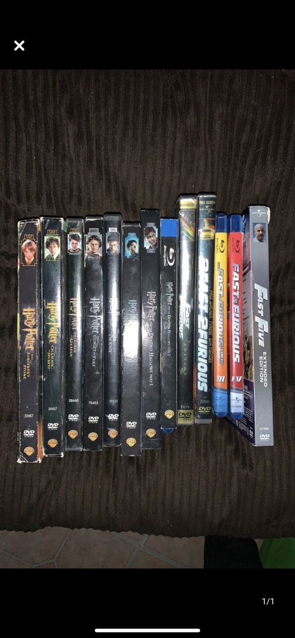 Harry Potter 1-8. Fast & Furious 1-5