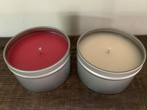 8oz soy wax candle - set of 2 for Sale in Morgantown, WV
