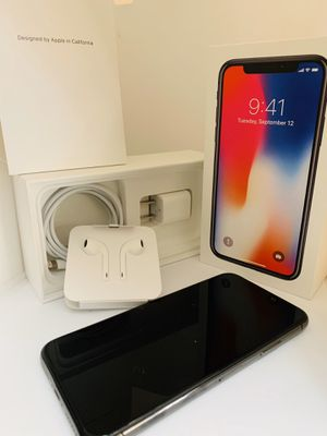 iPhone X - Can be used with any carrier for Sale in Surprise, AZ