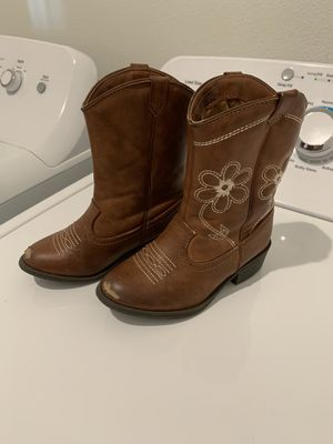 Girls cowboy boots for Sale in Beaumont, CA