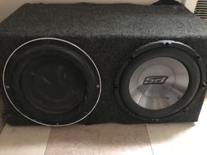"""Two 10"""" subwoofers 50$ OBO for Sale in Tacoma, WA"""