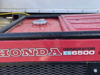 Honda Generator Es 6500 for Sale in Molalla,  OR