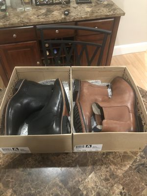 Brown and black Clark's Chelsea boots, in great condition. $90 for both, price is negotiable.size 12 for Sale in Boston, MA
