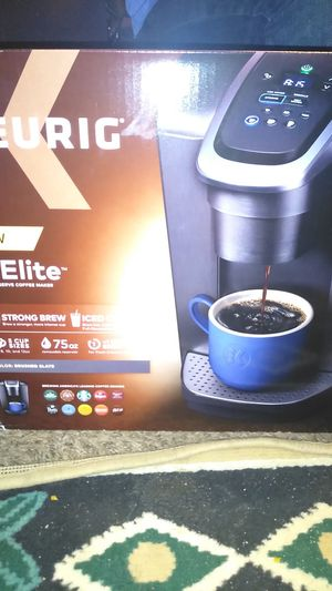 Keurig k.elite coffee maker for Sale in Modesto, CA