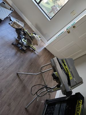 Ryobi miter and table saw for Sale in Los Angeles, CA