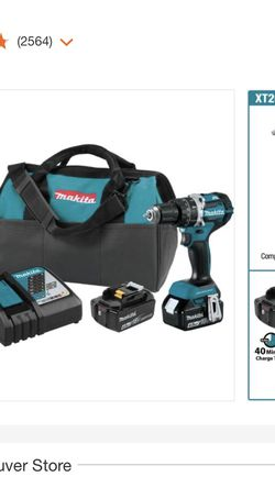Makita 18v LXT BRUSHLESS 2 Piece Combo Set for Sale in Vancouver,  WA