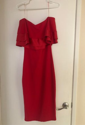 Beautiful Red Dress for any occasion size S for Sale in South El Monte, CA