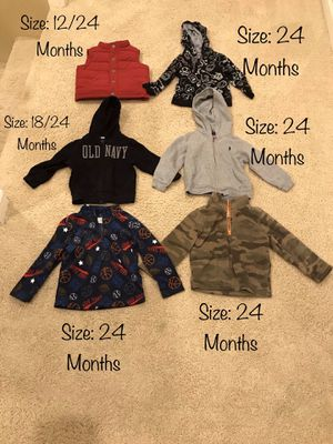 Boy's Hoodies/Vest for Sale in Chula Vista, CA