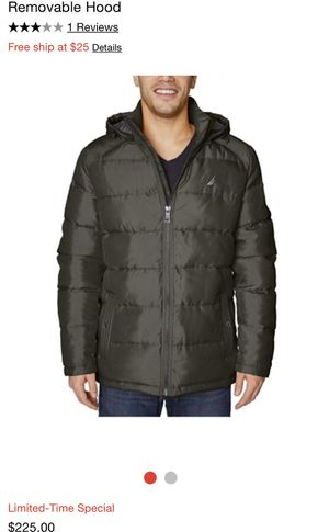 Nautica Puffer Jacket With Removable Hoodie for Sale in University City, MO