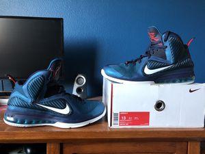 Nike Lebron 9 swingman size 13 for Sale in Reedley, CA