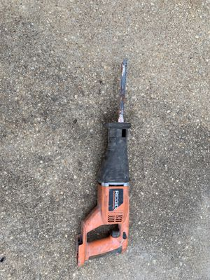 ridgid Reciprocating saw for Sale in Odenton, MD