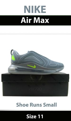 Nike Air Max 720 Cool Gray for Sale in Dover, FL