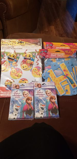 Party supplies for Sale in San Antonio, TX
