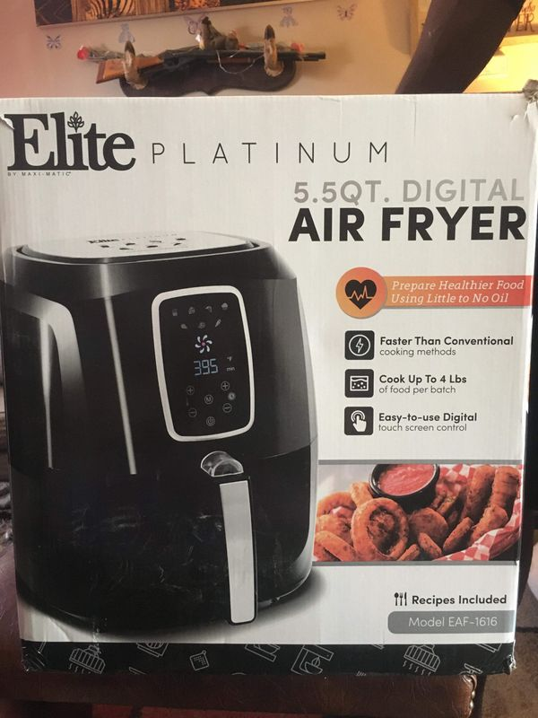 All new instant pot and fryer