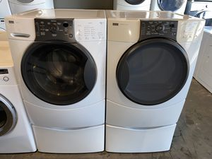 KENMORE ELITE XL CAPACITY WASHER DRYER ELECTRIC SET 100 DAYS WARRANTY for Sale in Vancouver, WA