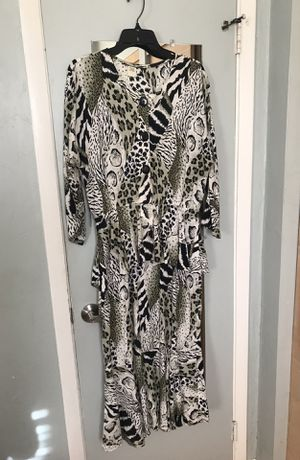 Nice Animal Print Dress, 12 for Sale in Miami, FL