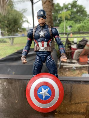 Captain America marvel action figure for Sale in Oakland Park, FL