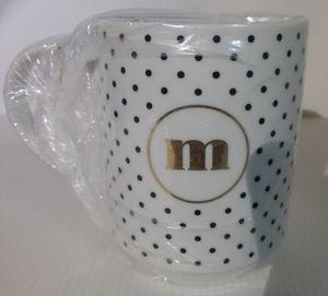 """Polka dot """"m"""" mug for Sale in Salt Lake City, UT"""