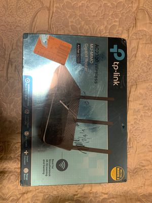 TP-LINK AC2300 Wireless Mu-mimo Gigabit WiFi Router Archer A2300 NEW SEALED for Sale in El Cajon, CA